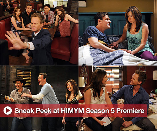 New Promo Photos For the Season Five Premiere of How I Met Your Mother