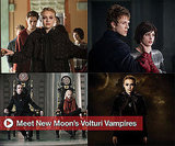 New Stills From New Moon, Photos of Volturi Vampires