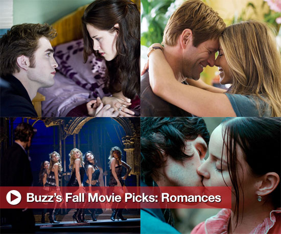 Buzz's Picks For Fall Movies: Romances