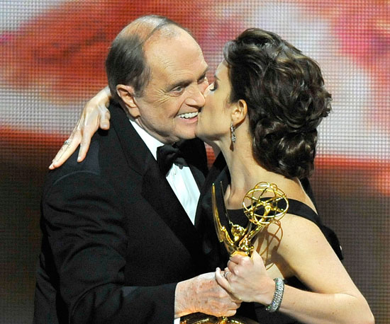 Tina Fey Plants One on Bob Newhart