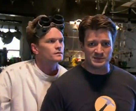 Dr. Horrible Makes an Appearance!
