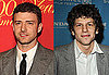 Justin Timberlake, Jesse Eisenberg, and Andrew Garfield Cast in Facebook Movie The Social Network