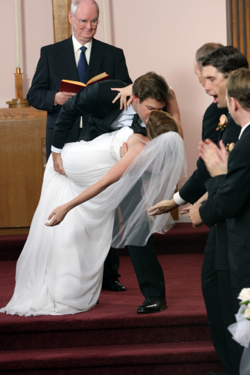 Jim and Pam's Wedding on The Office
