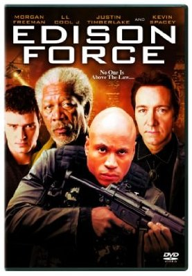 Justin Timberlake, Morgan Freeman, Kevin Spacey in Edison Force