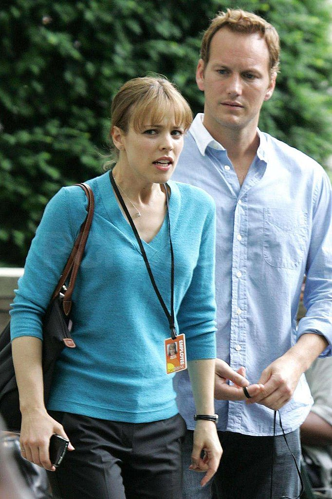 Photos of Rachel McAdams on Set