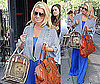 Photos of Jessica Simpson With Daisy in NYC