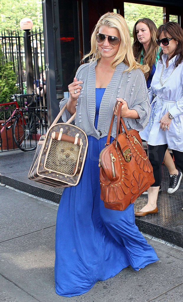 Photos of Jessica Simpson in Blue