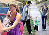Photos of Pregnant Gisele Bundchen Grabbing Lunch With Friends in LA