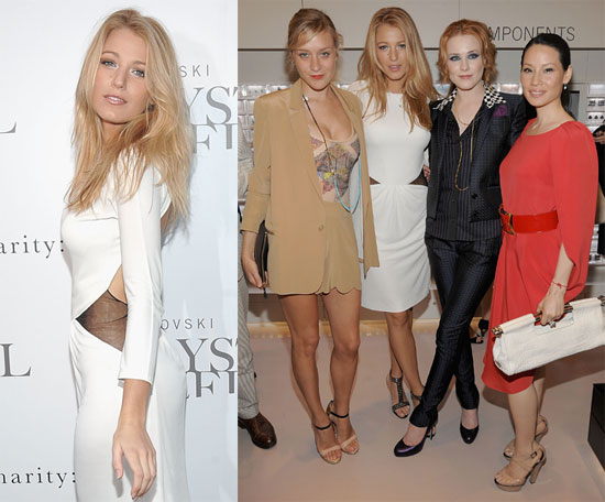 Photos of Blake Lively at the Grand Opening Of The Swarovski Crystallized Concept Store