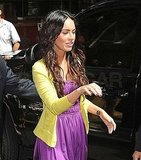 Photos of Megan Fox Heading to Regis and Kelly