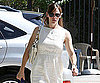 Slide Photo of Jennifer Garner Wearing a White Dress in LA