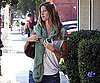 Photo Slide of Pregnant Gisele Bundchen Running Errands in LA