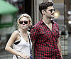Slide Photo of Ashley Olsen and Justin Bartha in Paris Together