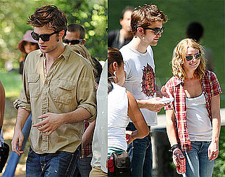 Photos of Robert Pattinson and Emilie de Ravin on Set of Remember Me in Central Park, Eclipse Production Starting August 17