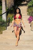Photos of Kim Kardashian in Her Multiple Bikinis