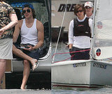 Photos of Zac Efron on a Boat