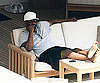 Slide Photo of Denzel Washington on Vacation in Italy