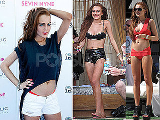 Photos of Lindsay Lohan Celebrating Her Birthday in Bikinis in Las Vegas