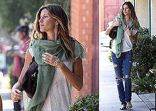 Photos of Pregnant Gisele Bundchen in LA