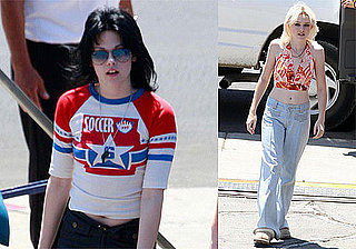Photos of Dakota Fanning and Kristen Stewart Filming The Runaways