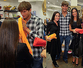 Photos of Demi Moore, Ashton Kutcher, Melissa Joan Hart, Soleil Moon Frye in LA