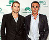 Photo Slide of Kellan Lutz and Chris Klein at a Fashion Party in LA