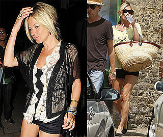 Photos of Kate Moss Out in London and in the Cotswolds With James Brown