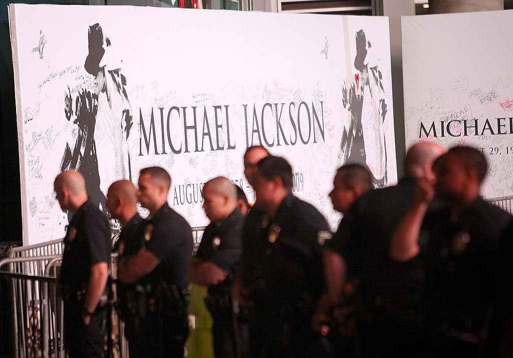 Photos of The Michael Jackson Memorial Service