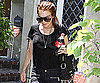 Photo Slide of Lindsay Lohan Leaving Samantha Ronson House