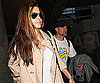 Photo Slide of Sandra Bullock and Jesse James at LAX