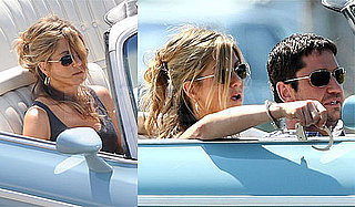 Photos of Handcuffed Jennifer Aniston Filming The Bounty with Gerard Butler in NYC