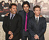 Photo Slide of Jeremy Piven, Kevin Connolly, and Adrian Grenier at the Season Six Premiere of Entourage