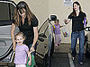 Photos of Jennifer Garner Picking Up Violet From School
