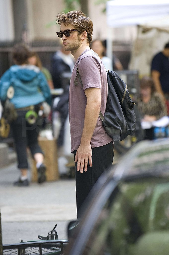 Photos of Robert Pattinson on Set