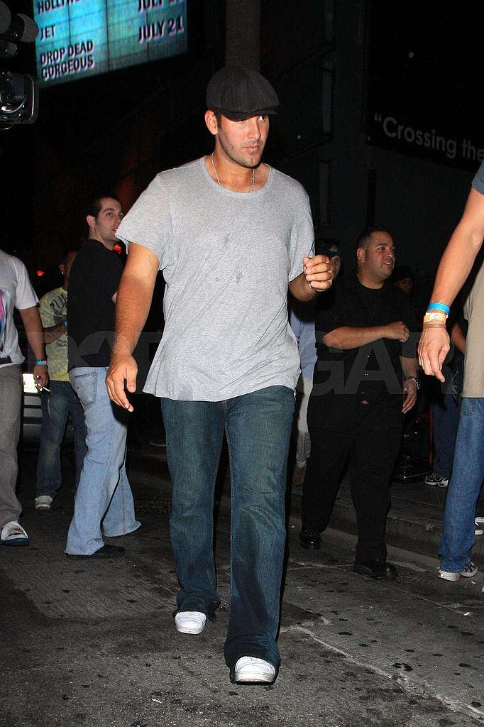 Photos of Tony Romo in LA