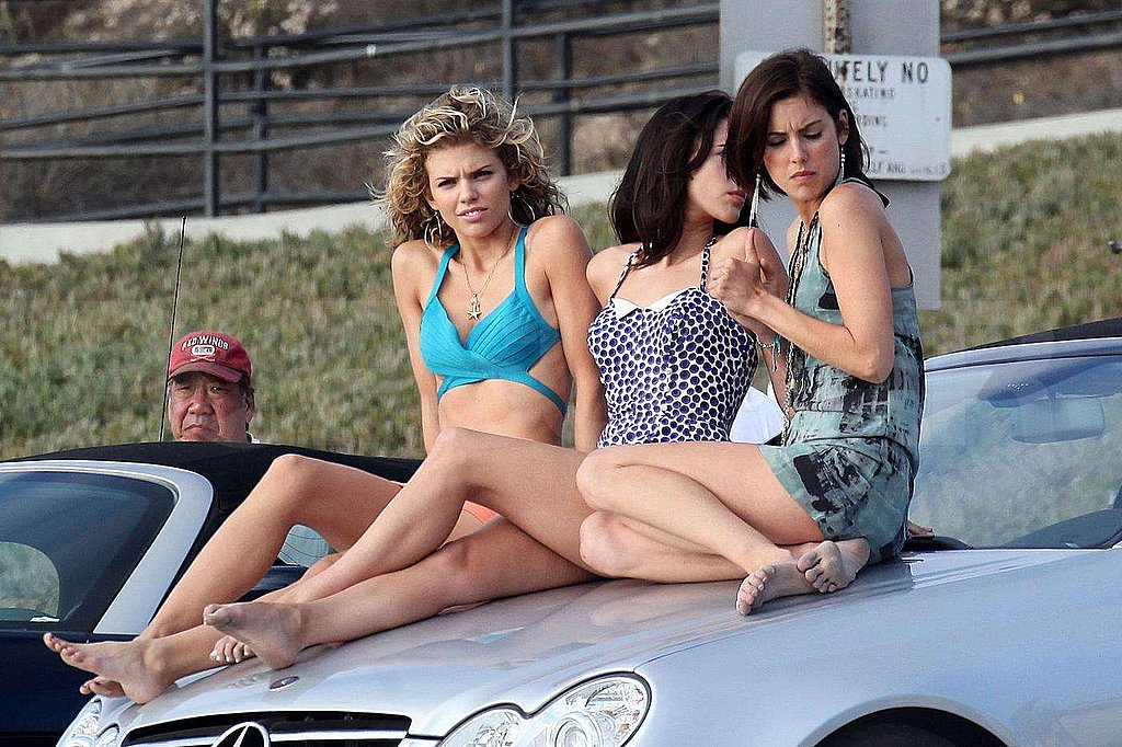 Photos of 90210 Filming in LA