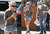Photos of Ashley Olsen and Justin Bartha Getting Coffee in LA