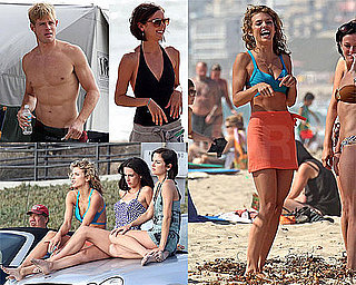 Bikini Photos of AnnaLynne McCord, Jessica Stroup, Jessica Lowndes, Shirtless Trevor Donovan Filming 90210