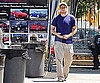 Photo Slide of Seth Rogen at a Car Wash in LA