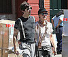Photo Slide of Drew Barrymore and Justin Long Going for a Walk in NYC