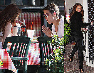 Photos of Lindsay Lohan and Samantha Ronson in LA
