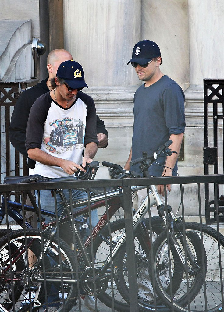 Photos of Leonardo DiCaprio in London