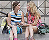 Photo Slide of Leighton Meester and Blake Lively Filming Gossip Girl in NYC