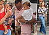 Photos of Jennifer Lopez With Twins Max and Emme on the NYC Set of The Back-Up Plan
