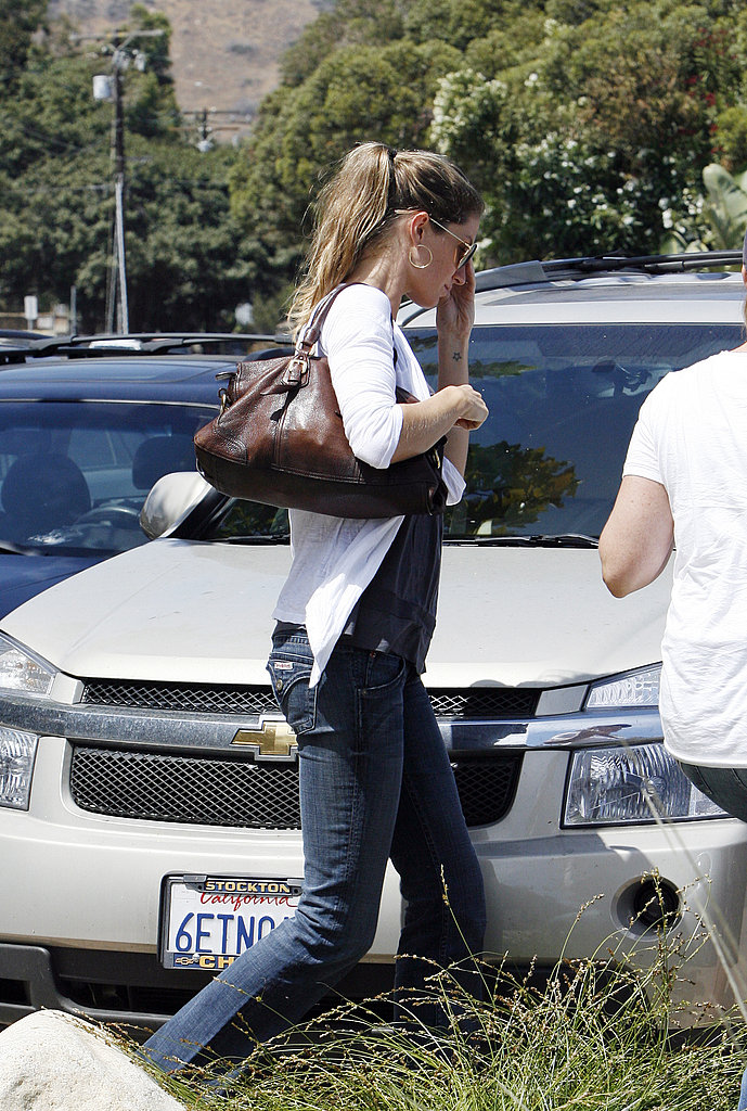 Photos of Tom and Gisele in LA