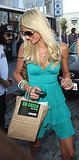 Photos of Paris Hilton Shopping in LA
