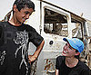 Slide Photo of Angelina Jolie in Iraq With the UN