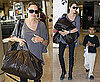 Photos of Angelina Jolie and Maddox Jolie-Pitt at London's Heathrow Airport After Visiting Iraq and Jordan