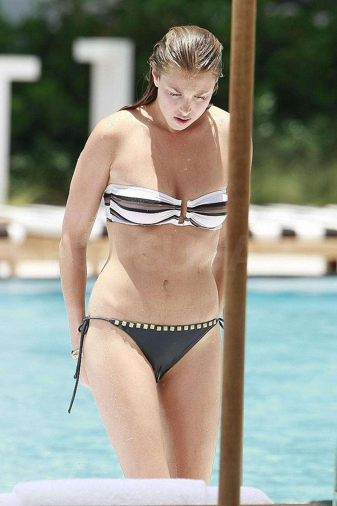 Photos of Whitney Port Poolside