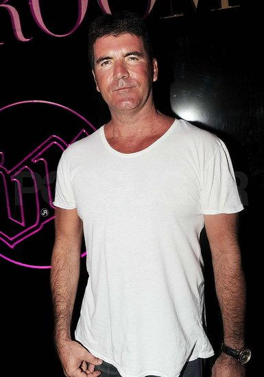 Photos of Simon Cowell in St. Tropez